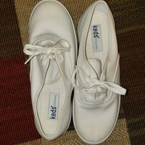 KEDS Lace Up Canvas Sneakers